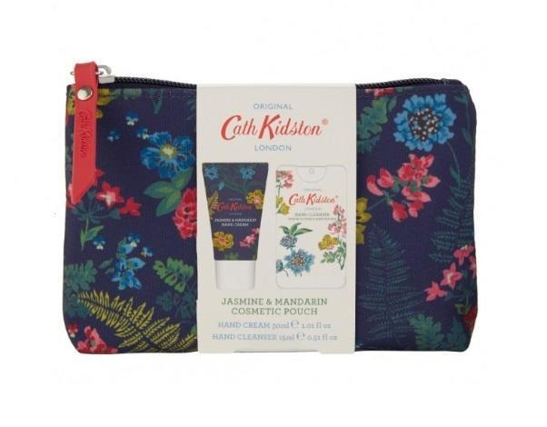 Cath Kidston Dárková sada kosmetiky v taštičce Twilight Garden, modrá barva, textil