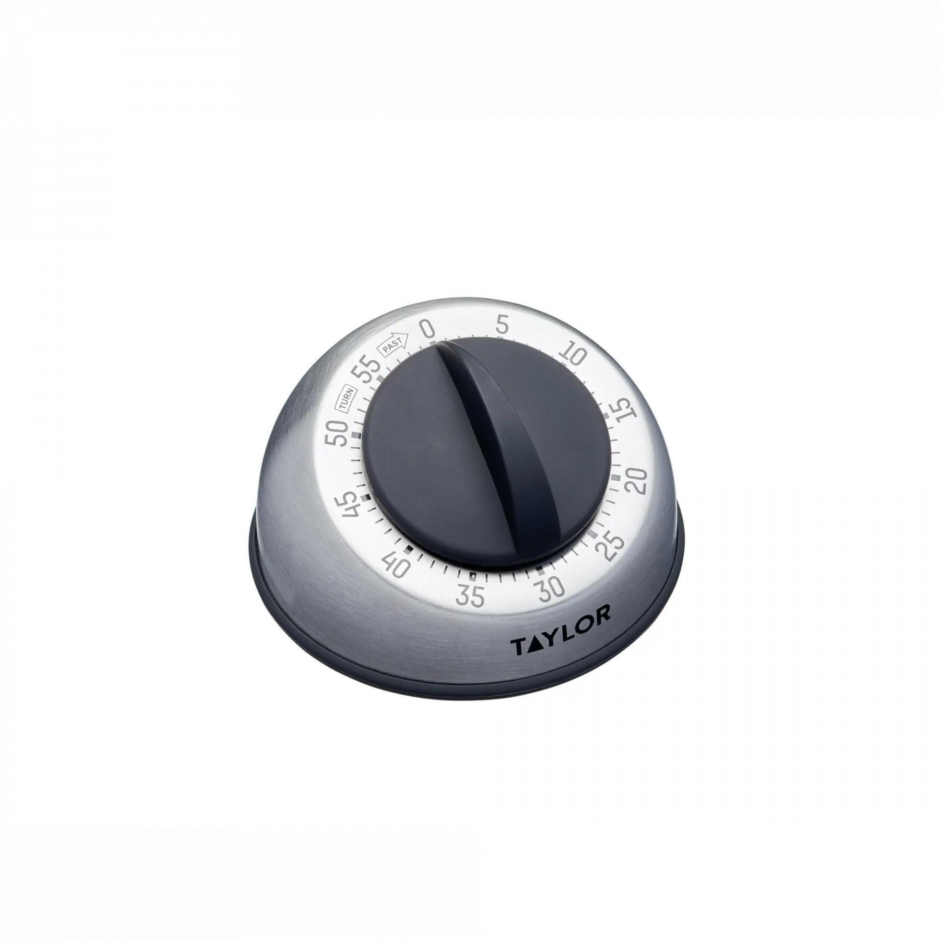 Kitchen Craft Kuchyňská minutka Dial Classic, stříbrná barva, kov