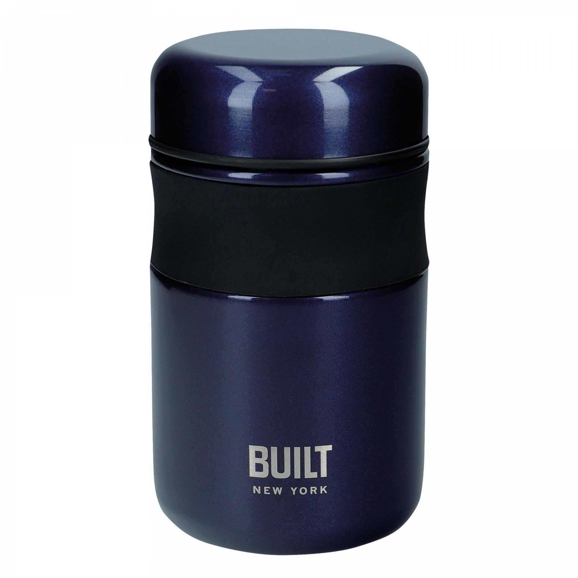 Kitchen Craft Termo box na potraviny Midnight Blue 490 ml, modrá barva, kov