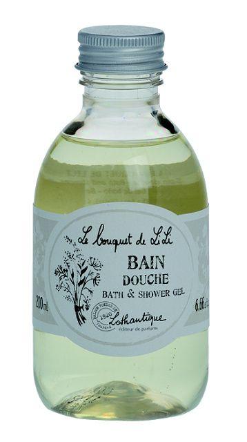 Lothantique Lothantique koupelový a sprchový gel - lilie, bílá barva