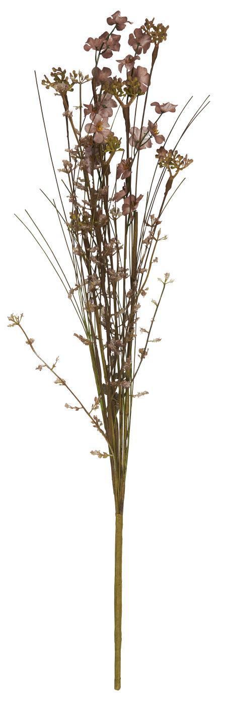 IB LAURSEN Dekorativní umělé květy Malva Tones, zelená barva, plast, papír