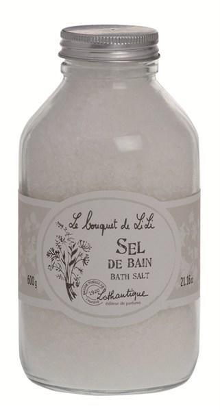 Lothantique Lothantique sůl do koupele - lilie, bílá barva