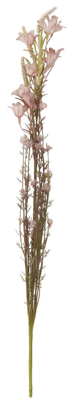 IB LAURSEN Dekorativní umělé květy Pink/Green Tones, růžová barva, zelená barva, plast