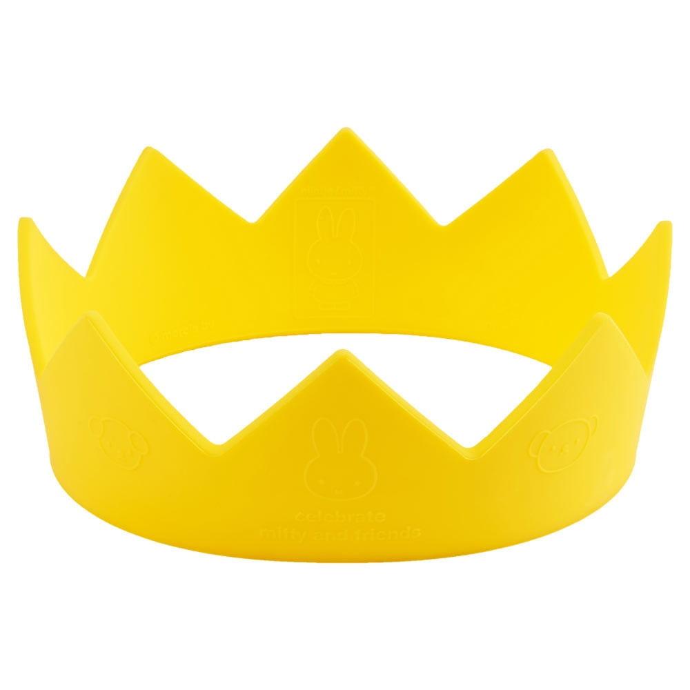 Mr Maria Dětská korunka Miffy, žlutá barva, plast