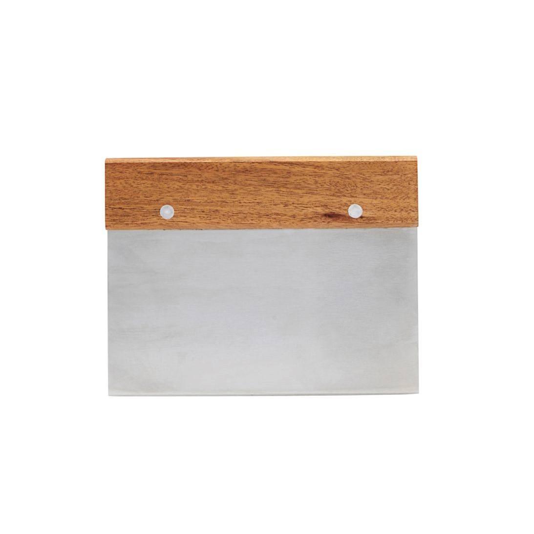 Nicolas Vahé Kráječ na těsto Acacia, stříbrná barva, přírodní barva, dřevo, kov