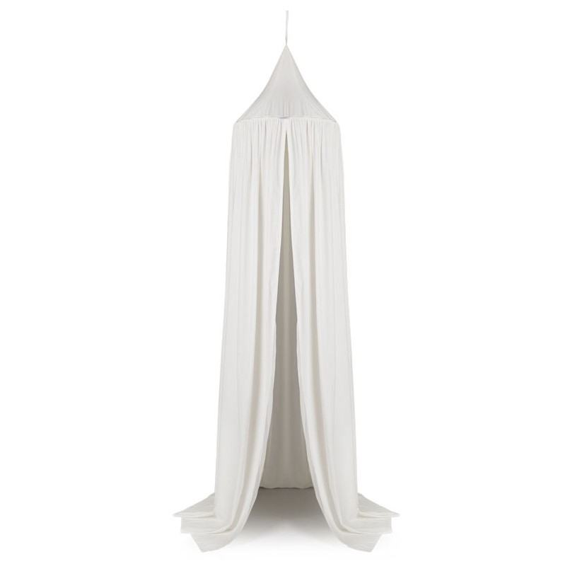 LIEWOOD Nebesa do dětského pokoje Creme de la Creme 200 cm, bílá barva, textil