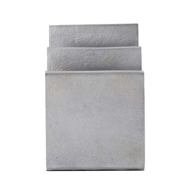 MONOGRAPH Kovový stojan na dokumenty Mono Silver, stříbrná barva, kov