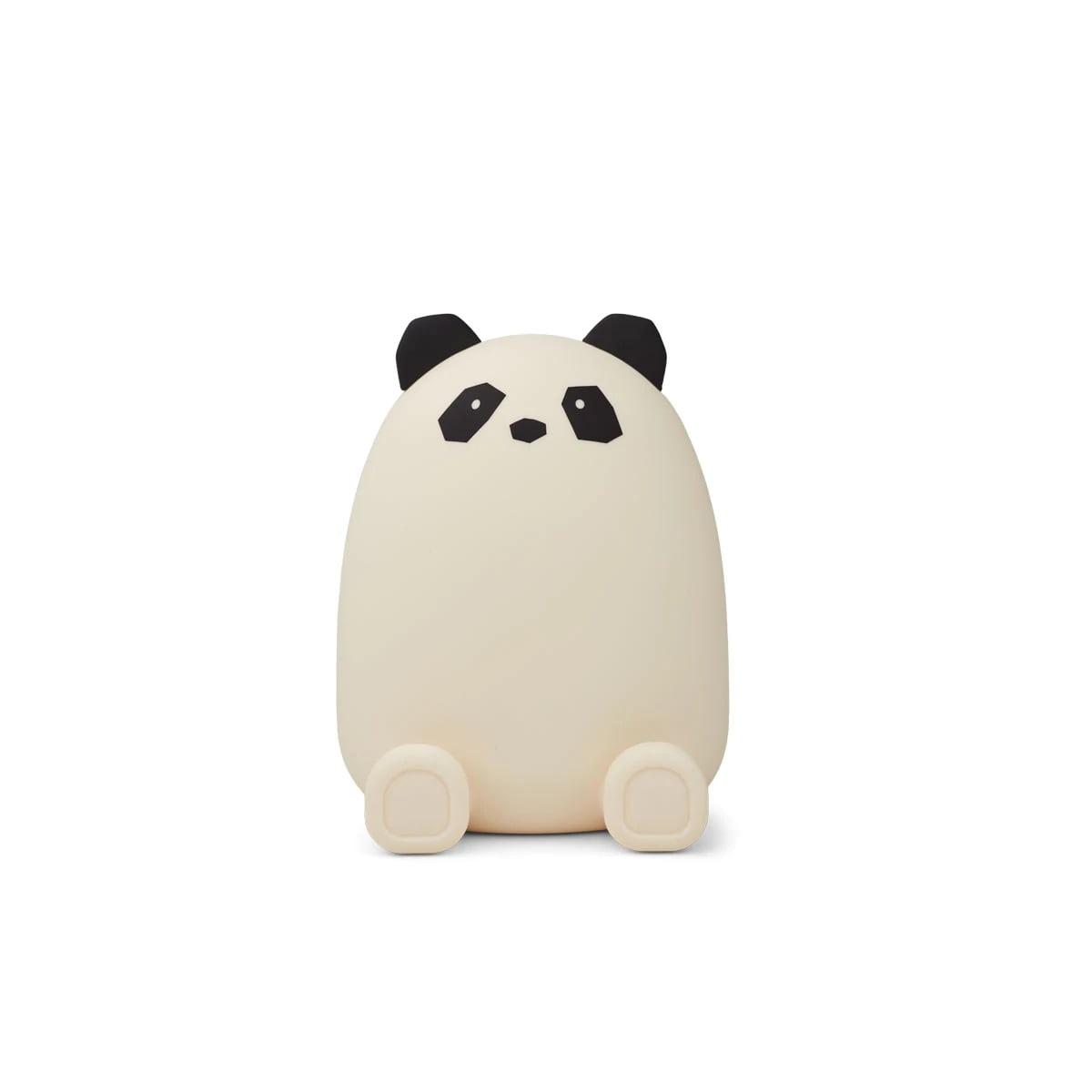 LIEWOOD Dětská pokladnička Palma Panda Creme de la Creme, bílá barva