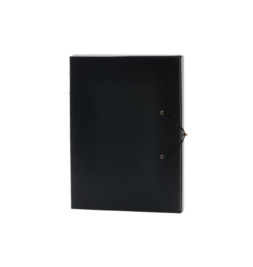 MONOGRAPH Složka na dokumenty Black A5, černá barva, papír