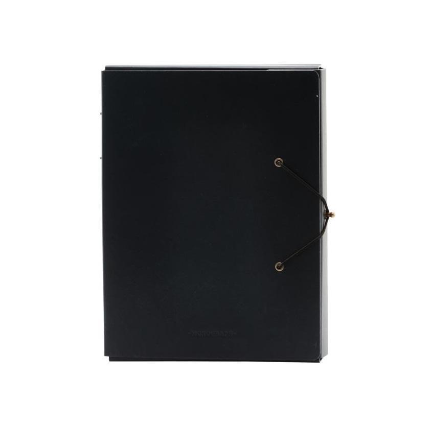 MONOGRAPH Složka na dokumenty Black A4, černá barva, papír