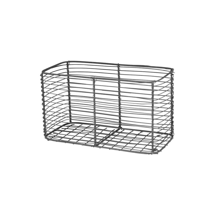 Strömshaga Drátený košík Wire Basket, šedá barva, kov