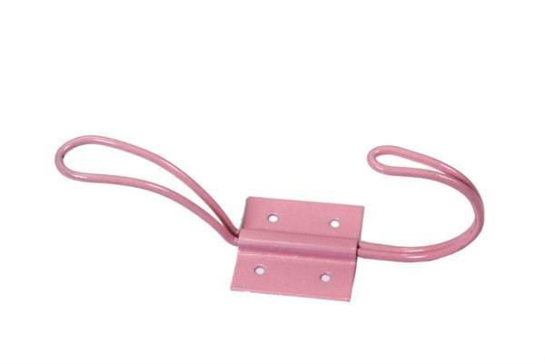 La Finesse Kovový věšák Pink 13cm, růžová barva
