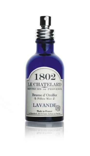 LE CHATELARD Levandulový spray na polštář, fialová barva