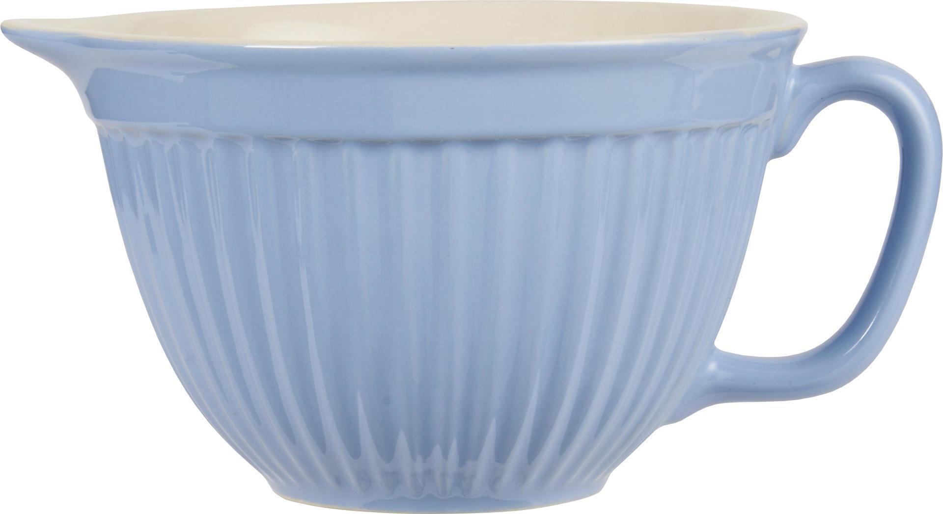 IB LAURSEN Mísa na těsto Mynte nordic sky, modrá barva, keramika