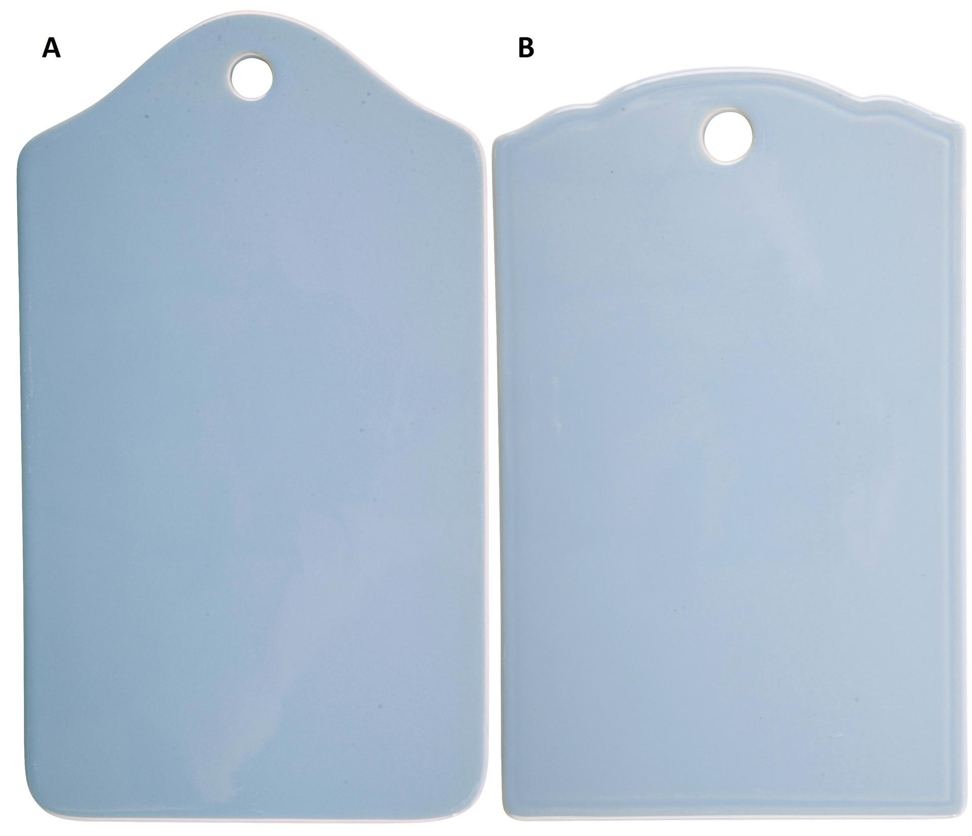 IB LAURSEN Keramické prkénko Mynte nordic sky A, modrá barva, keramika