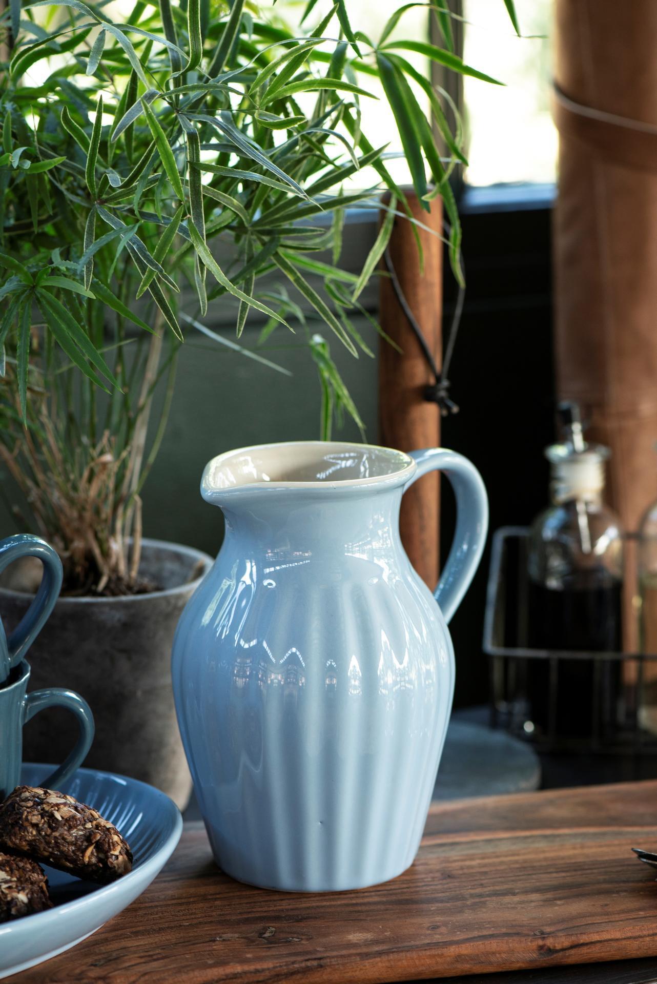IB LAURSEN Džbán Mynte Nordic sky 1,7 l, modrá barva, keramika