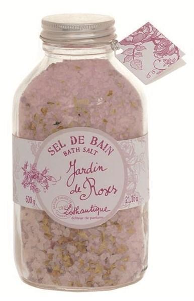 Lothantique Lothantique sůl do koupele - růže, růžová barva, béžová barva