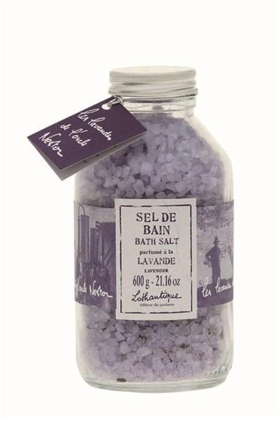 Lothantique Lothantique sůl do koupele - levandule