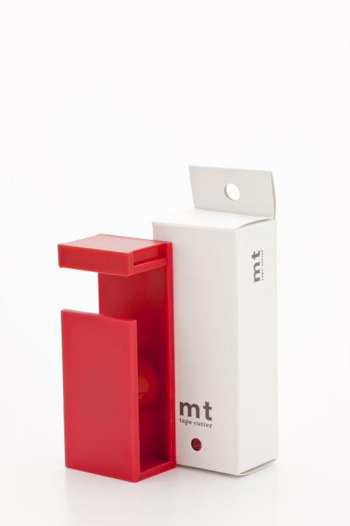 mt Magnetický stojánek na MT pásky - červený, červená barva, kov