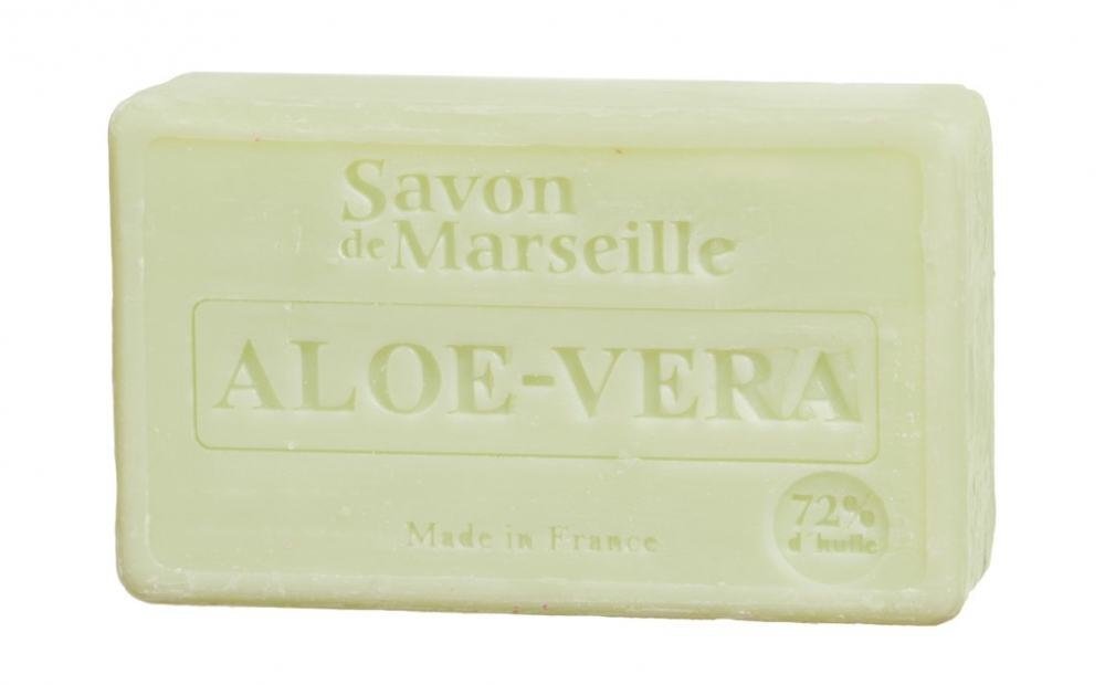 LE CHATELARD Marseillské mýdlo 100 g - aloe vera, bílá barva