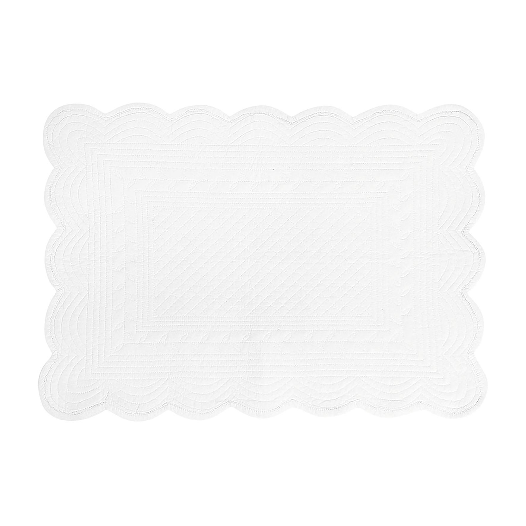 Côté Table Látkové prostírání bílé 37x50