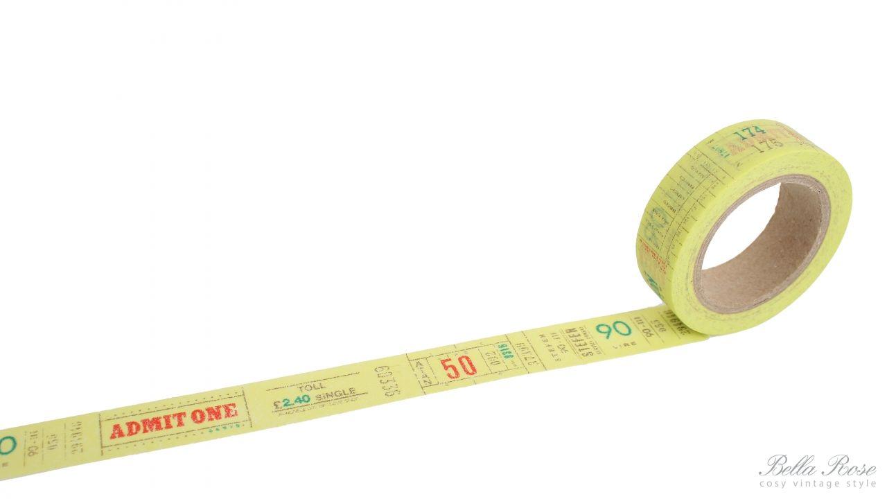 La Finesse Samolepící designová páska - číslice a texty