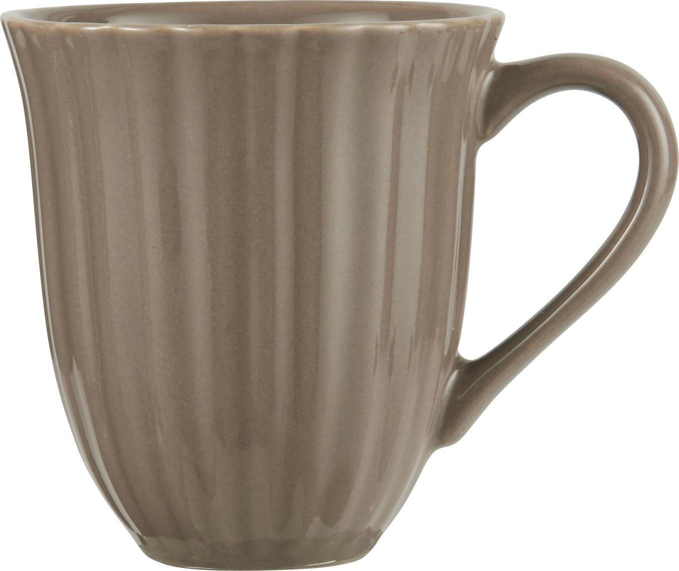 IB LAURSEN Hrnek Mynte Milky Brown, hnědá barva, keramika 280 ml