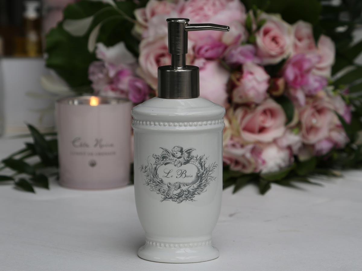 Chic Antique Porcelánový zásobník na mýdlo Angel