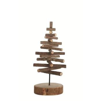 Dřevěný dekorační stromeček