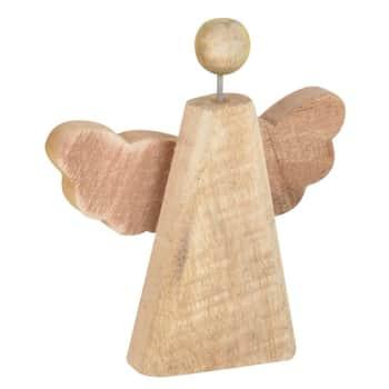 Dřevěný dekorativní anděl