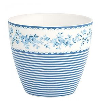 Latte Cup Audrey Indigo