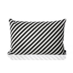 ferm LIVING / Vankúš Black Stripe 60x40