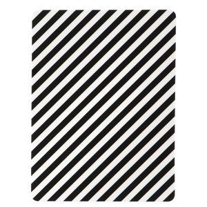 ferm LIVING / Servírovací prkénko Black mini Stripe