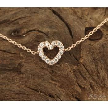 Living Accessories / Náhrdelník Heart rose