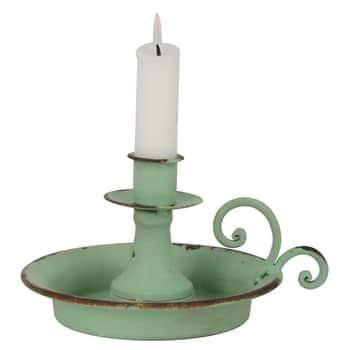 Svícen Mint Green