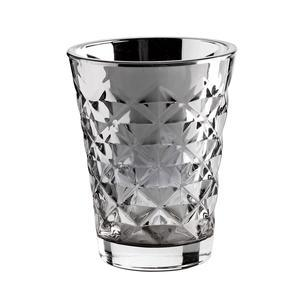 Tine K Home / Svícen Facet glass Silver 10 cm