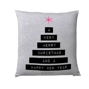 Bloomingville / Vánoční polštář X-mas Tree