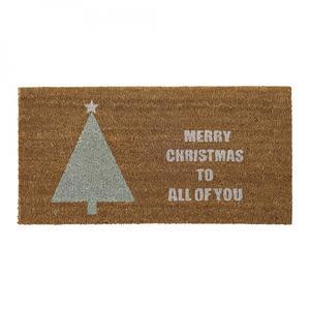 Bloomingville / Vánoční rohožka Merry Christmas