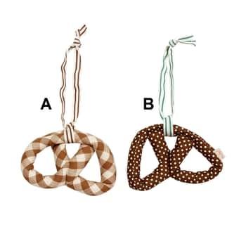 Maileg / Látková ozdoba Pretzel brown 18cm