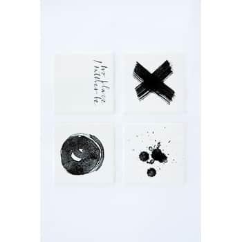 Podtácek/kachlička Black print