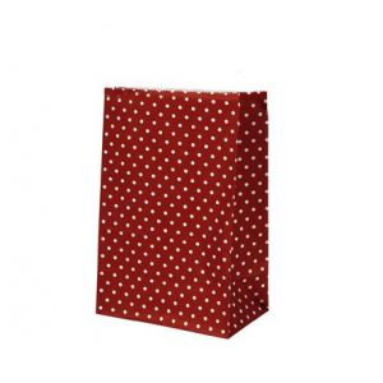 Papírový sáček Spot red