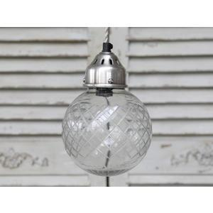 Chic Antique / Stropní lampa Ball glass
