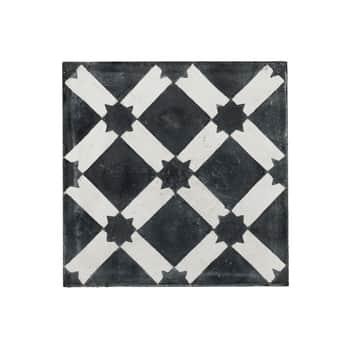 Cementová kachle Black Star