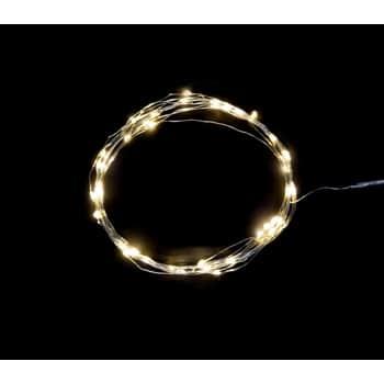 Svetelný LED drôtik s40timi žiarovkami