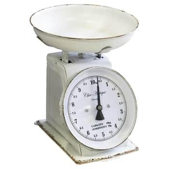 Kuchynská váha Antique White