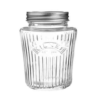 Vroubkovaná zavařovací sklenice 500ml