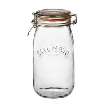 Kulatá zavařovací sklenice sklipem 1,5l