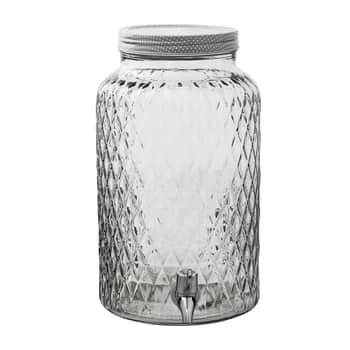 Skleněná nádoba na nápoje - 6L