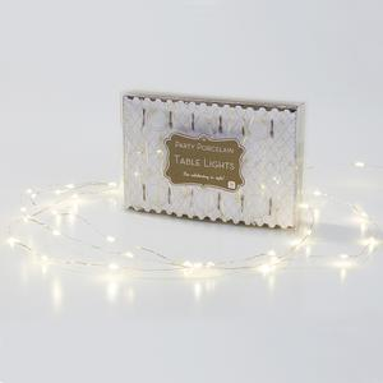 Světelný LED drátek Party Silver