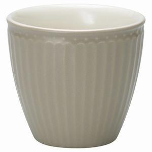 Green Gate / Latte cup Alice warm grey
